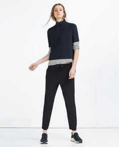 ZARA - COLLECTION SS16 - LOOSE-FIT TROUSERS