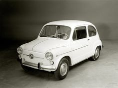 Best classic cars and more! Fiat 600, Super Sport Cars, Best Classic Cars, Daihatsu, First Car, Car Wheels, Audi Quattro, Old Cars, Cars And Motorcycles