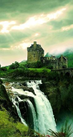 The Amazing Waterfall Castle | Amazing Snapz http://pinterest.com/interestingpic/