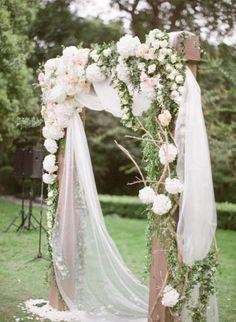 cool 30 Summer Wedding Arches Inspiration https://viscawedding.com/2017/04/15/summer-wedding-arches-inspiration/