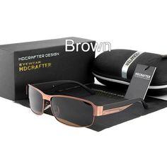 dd84464f124 HDCRAFTER Fashion Driving Sun Glasses for Men Polarized UV400 Brand  Designer Sunglasses Men Oculos Male gafas