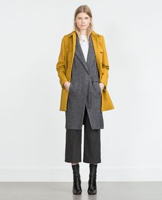 Image 1 of LONG DOUBLE BREASTED WAISTCOAT from Zara