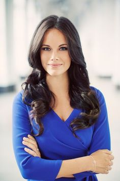 happyswedes:  New Official Photo of Sofia Hellqvist, fianceé of Prince Carl Philip of Sweden