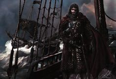 King Euron Greyjoy: Awesome ASOIAF Illustration by Mike-Hallstein Recommended: Fantastic Game of Thrones Merchandise Here
