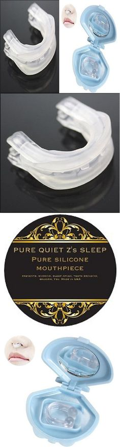 Mouthpieces: Stop Snoring Nose Clip + Pure Quiet Z S Sleep Anti Snore Mouthpiece Guard 2P -> BUY IT NOW ONLY: $30.99 on eBay!