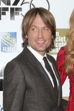 A man in a suit........ bonus it just happens to be Keith Urban
