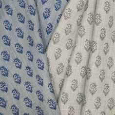 NEW DELIVERY! Rajmata Tonal in Mist/Indigo and Ash/Gray join the line and hit showrooms next week!