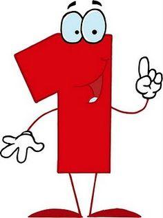 Illustration of Funny Cartoon vector art, clipart and stock vectors. Numbers Preschool, Math Numbers, Preschool Printables, Preschool Crafts, Funny Numbers, Nursery Activities, Number Art, Grammar Book, Banner Letters