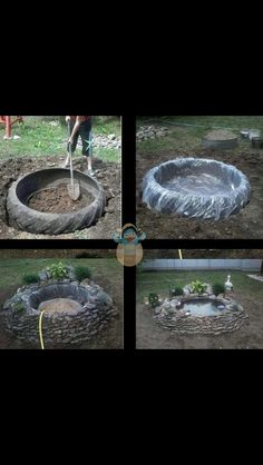 Easy thing to do for your backyard!                                                                                                                                                                                 More