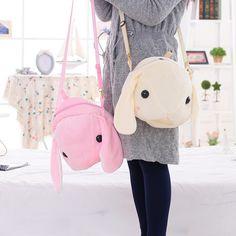 Japanese rabbit backpack messenger bag