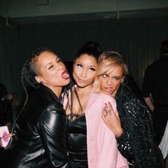 Alicia Keys, Nicki Minaj et Beyoncé