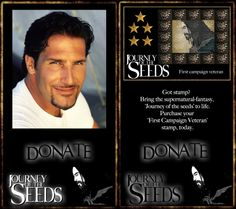 'Journey of the seeds' is an independently produced supernatural fantasy being developed for TV.   Join the fight and donate to the Journey to help us bring the production to screens all over the globe.   http://www.journeyoftheseeds-themovie.com/the-first-campaign-join-the-fight/