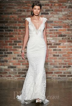 Alvina Valenta Wedding Dresses Spring 2014 Bridal Runway Shows | Wedding Dresses Style | Brides.com