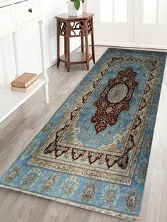 Vintage Persian Bathroom Floor Door Mat