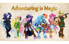 Adventuring is Magic by Ambris < Submission | Inkbunny, the Furry Art…