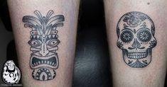 Thanks Daan! Charm Tattoo, Lucky Charm, Sugar Skull, Tattoos, Mini, Tatuajes, Tattoo, Japanese Tattoos, Sugar Skulls
