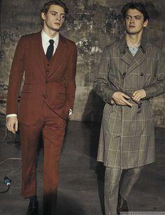 Male Fashion Trends: GQ Italia presenta a las nuevas promesas del cine italiano en fotos de Stefano Galuzzi