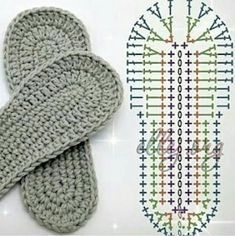 Learn To Crochet Cute Flower Slippers Crochet Sole, Crochet Slipper Pattern, Crochet Baby Sandals, Booties Crochet, Crochet Stitch, Crochet Slippers, Crochet Patterns, Diy Crafts Crochet, Crochet Clothes