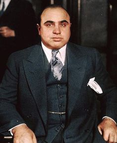 Al Capone, the original gangster. 1930  Photo/ www.gottahaveit.com