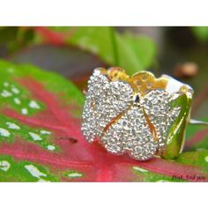 Open ended American Diamond carved Heart Shaped broad Ring - Online Shopping for Rings by Pink And You