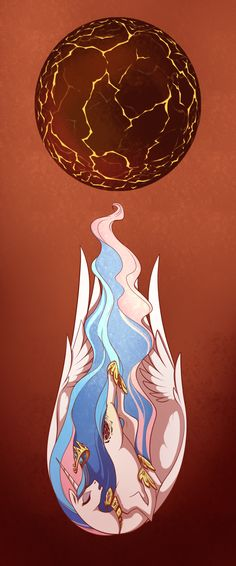 Oh T-T oh this is so sad. The death of the sun. Celestia. Sun burning out.