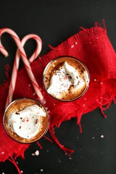 Peppermint Vegan Drinking Chocolate #vegan #glutenfree #christmas (getting ahead of myself)