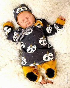 Babyset - Shirt/Pullover, Hose und Mütze ab Größe 50 bis 98 bei Makerist