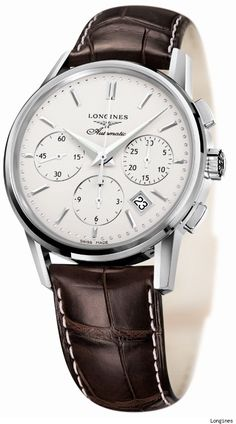 Longines Column-Wheel Chronograph Watch For Winner Of Kentucky Derby