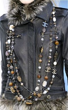 notordinaryfashion - Chanel Leather and Jewelry