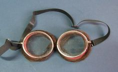 US WW1 Air Service 'Wilson' Band Flying Goggles | eBay