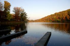 Montgomery Bell SP--good fall hike, lots of room to roam and meander, good cabins also