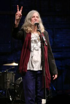 """Patti Smith Announces New Memoir 'M Train.'  Book will focus on 18 """"stations"""" of Smith's life, including her relationship with late husband Fred """"Sonic"""" Smith. - RollingStone"""