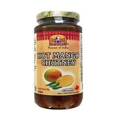 Everland Taj Mahal Hot Mango Chutney - 375ml