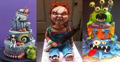 18 Excellent Halloween Cakes