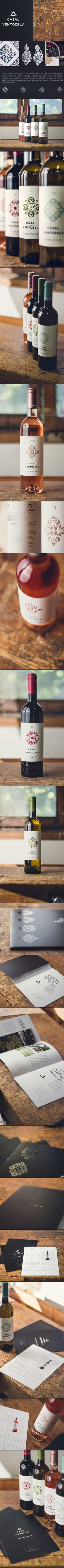 packaging - branding - print / casal de ventozela by gen design studio, via Behance