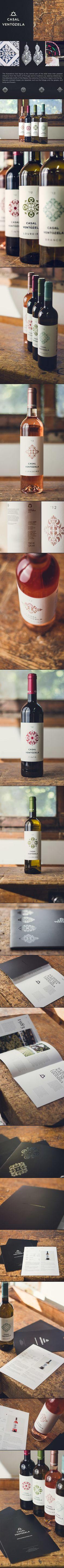 packaging - branding - print / casal de ventozela by gen design studio, via Behance