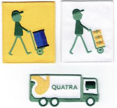 www.quatra.com recyclage afvalolie. They badge their brand in a great way!
