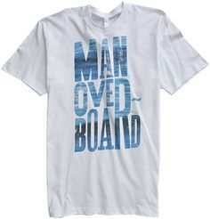 THE RYDE MAN OVERBOARD SS TEE