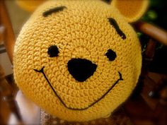 pooh bear crochet pillow pattern