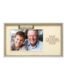 'Grandpa & Me' Frame by Grasslands Road #zulily #zulilyfinds