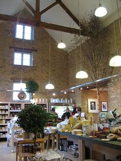 Daylesford Organic, Kingham - the fanciest farm shop on the planet.