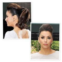 Look of the Day photo | Eva Longoria's Bumped-Up Ponytail