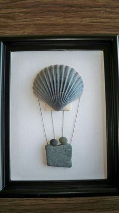 of the Best Creative DIY Ideas For Pebble Art Crafts - Steine - Welcome Haar Design Stone Crafts, Rock Crafts, Arts And Crafts, Art Crafts, Pebble Pictures, Art Diy, Rock And Pebbles, Creation Deco, Seashell Art