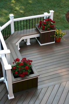 50 Awesome Deck Railing Ideas for Your Home 50 Awesome Deck Railing Ideas for Your Home …re. While having originally wandered through the inspiration looking for an idea. The post 50 Awesome Deck Railing Ideas for Your Home appeared first on Welcome! Backyard Patio Designs, Backyard Landscaping, Patio Ideas, Landscaping Ideas, Back Deck Ideas, Backyard Porch Ideas, Back Deck Designs, Backyard Decks, Patio Colour Ideas