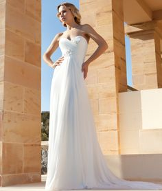 >> Click to Buy << Free Shipping Empire Sweetheart Wedding Dresses Robe De Mariage Pleats Backless Robe De Mariage Bride Summer Dress #Affiliate