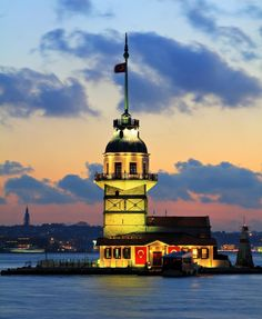 Maiden's Tower~Istanbul, Turkey