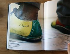 Take a look inside Clarks in Jamaica as it uncovers a deep culture. Tap Shoes, Men's Shoes, Dance Shoes, New York Galleries, Rocker Style, Hip Hop Artists, Jamaica, Streetwear Fashion, Clarks
