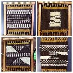 Four Coasters by Twill Power, via Flickr