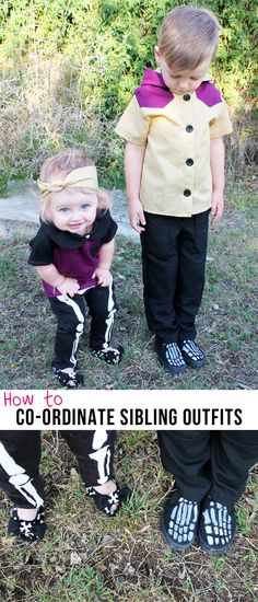 Max California: Pattern Anthology Tour: How to Co-ordinate Sibling Outfits