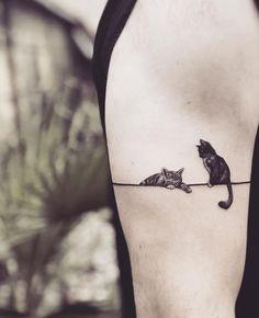 101 Tiny Animal Tattoo Designs for Men and Women tattoos . - 101 tiny animal tattoo designs for men and women – Decor Ideas – - Fake Tattoo, Cute Cat Tattoo, Diy Tattoo, Tattoo Fish, Tattoo Wolf, Simple Cat Tattoo, Whale Shark Tattoo, Tiny Cat Tattoo, Meow Tattoo